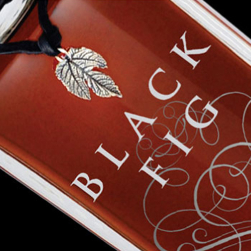 Black Fig Vodka: Packaging