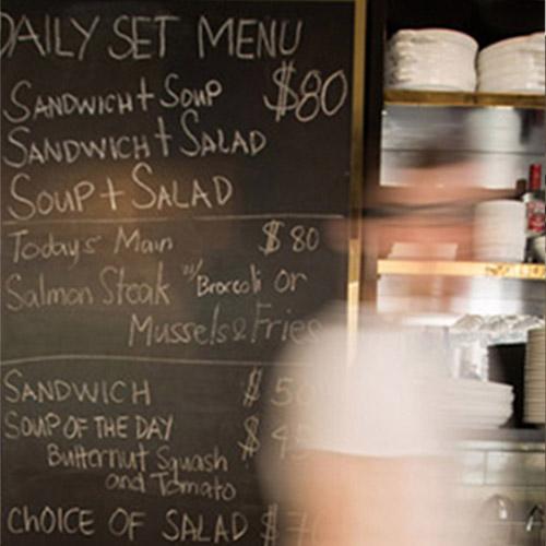Nosh Cafe & Bakery: Branding