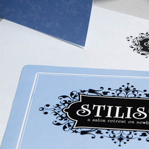 Stilisti Salon on Newbury: Branding