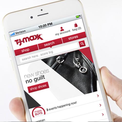 TJMaxx: eCommerce Website